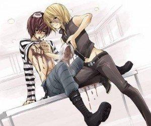Je te veux dans mon lit ~ Chapter 1 dans Je veux te veux dans mon lit <3 death-note-yaoi_26013_2-300x250