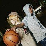 Nice cosplay Aomine *q* Kise